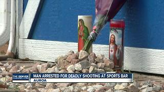 Police arrest man wanted in deadly Aurora sports bar shooting