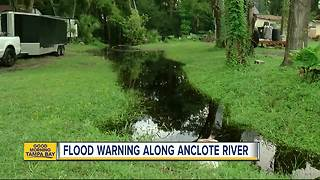 Rising waters concern residents along Anclote River - Video