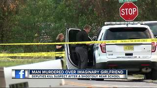 Man kills his mom's friend for hitting on his imaginary girlfriend, then opens fire on deputies - Video