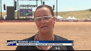 Mountain Home Country Music Festival kicks off Friday - Video