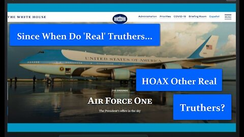 Did Donald Trump Really Take Air Force One to Switzerland or Was it Really a Reverse Truther Hoax?