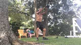 Watch This 54-Year-Old's Relentless Workout Routine