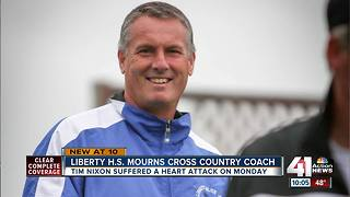 Community mourns death of popular Liberty coach - Video