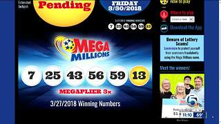 $458M jackpot numbers drawn - Video