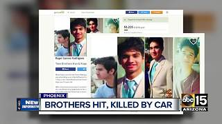 Authorities ID teen brothers hit by car, killed - Video