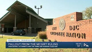 Fallout from McGirt ruling