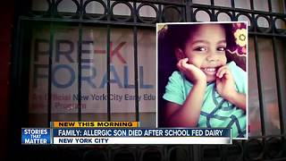 Family: Allergic son died after school fed him a grilled cheese sandwich - Video