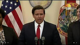 NEWS CONFERENCE: Gov. DeSantis holds Monday briefing on coronavirus (34 minutes)