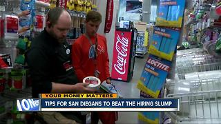 San Diego job seekers facing two major obstacles - Video