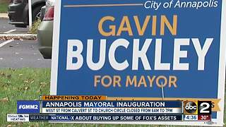 Gavin Buckley to be sworn in as Annapolis mayor - Video