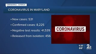 April 12, 2020: COVID-19 outbreak in Maryland