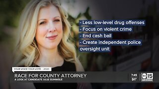 Race for county attorney: Closer look at Julie Gunnigle