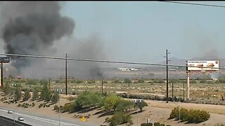 Loop 202 and Kyrene brush fire