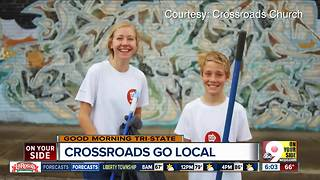 Crossroads GO Local weekend takes church to community - Video