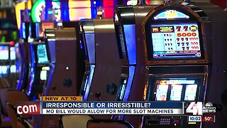 Missouri bill would allow for more slot machines