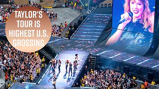 Taylor Swift breaks record for highest-grossing US female tour - Video