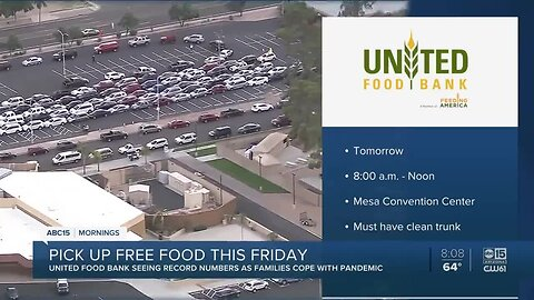 United Food Bank to host Help Yourself distribution Friday