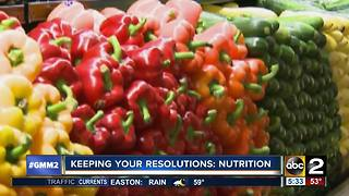 Keeping You Nutrition Resolutions - Video