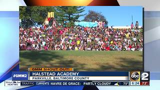 A BIG good morning from Halstead Academy - Video