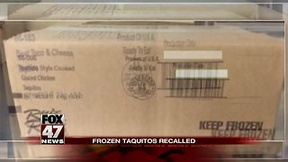 2.4 million pounds of taquitos recalled nationwide due to potential salmonella contamination