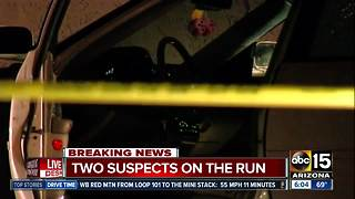 2 taken to trauma center after Phoenix shooting - Video