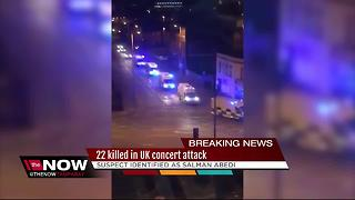 22 killed in UK concert attack