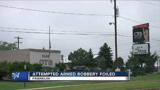 Security stops attempted robbery at On The Border strip club in Franklin - Video