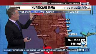 Hurricane Irma 6 p.m. - Video