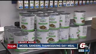 Mozel Sanders Thanksgiving Day Meal - Video