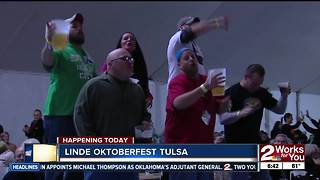 39th Annual Linde Oktoberfest Tulsa kicks off - Video