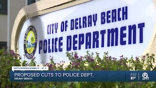 Delray Beach proposes police budget cuts