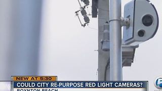 Could city re-purpose red light cameras?