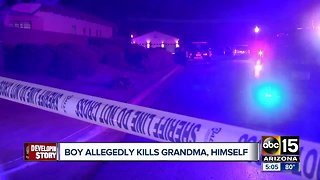 Neighborhood upset after 11-year-old kills grandmother, then himself in Litchfield Park