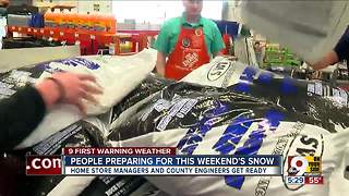 Tri-State prepares for snowstorm - Video