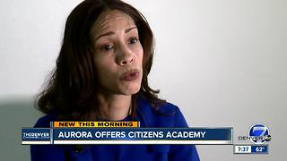 Aurora offers citizens academy