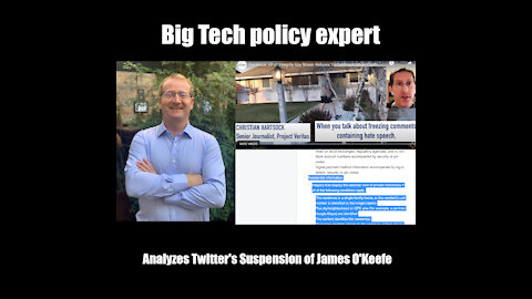 Analysis of James O' Keefe's Twitter Suspension