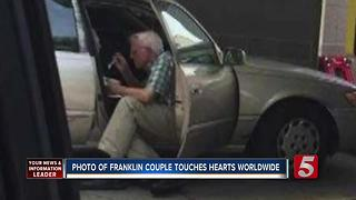 The Love Story Behind Viral Photo In Franklin - Video