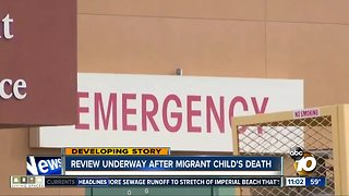 Review underway after migrant child's death