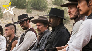 "Denzel Washington And Chris Pratt Saddle Up In First ""Magnificent Seven"" Trailer - Video"