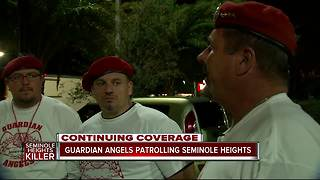 Guardian Angels patrolling Seminole Heights after fourth homicide - Video