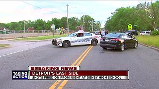 Shots fired on prom night at Denby High School - Video
