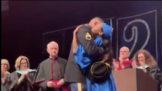 Army Dad Surprises Daughter at Graduation After 10 Years Overseas