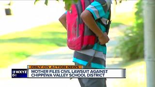 Mother sues metro Detroit school district for forcing son to take English - Video