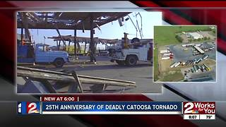25th anniversary of deadly Catoosa tornado - Video