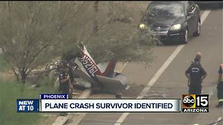Friends ID man injured in small plane crash - Video