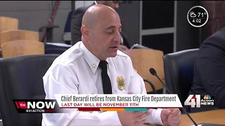 KCFD chief retires after 30+ years of service