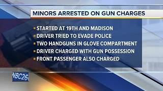 Manitowoc minors arrested on weapons charges - Video