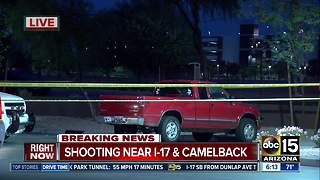 Man taken to hospital after being shot near I-17 and Camelback - Video