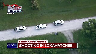 Shooting investigated near Loxahatchee