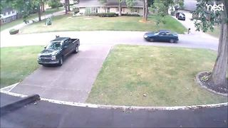 Suspect vehicle in Johnson Co. hit and run - Video